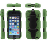 4 in 1 Heavy Duty Belt Clip Holster Case for Apple iPhone 5 5s