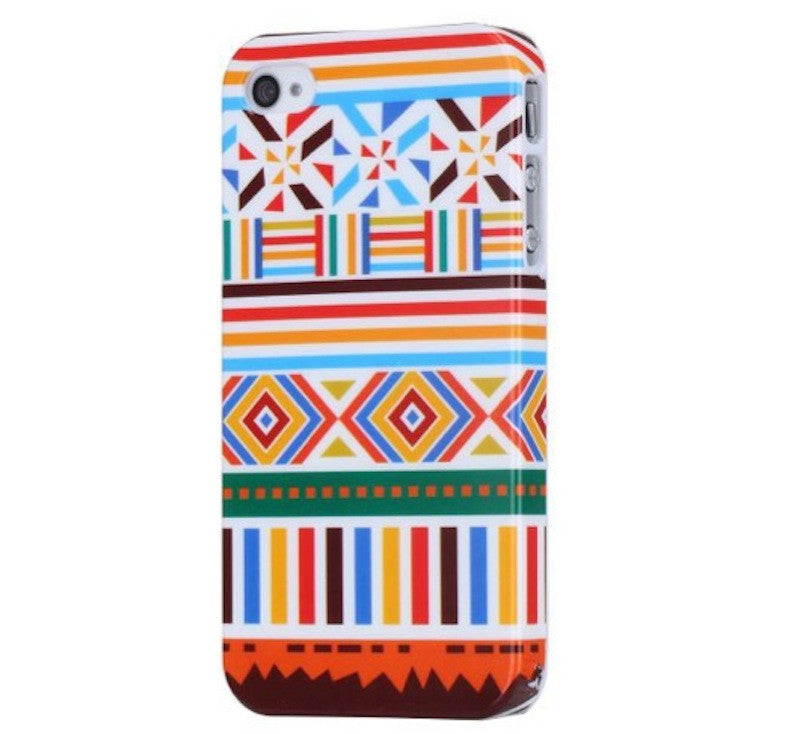 Aztec Design Hard Back Case Cover for Apple iPhone 4 4s - D2