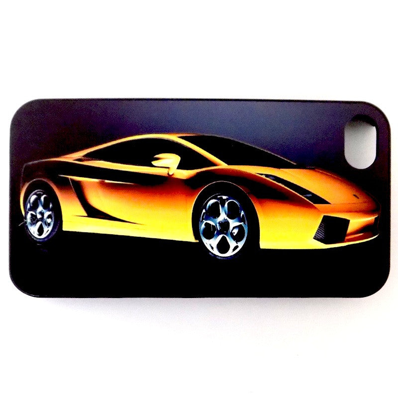 Bracevor Sports Car Wonder Design Hard Back Case for Apple iPhone 4 4s