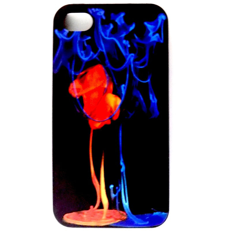 Bracevor Fire and Ice Design Hard Back Case for Apple iPhone 4 4s
