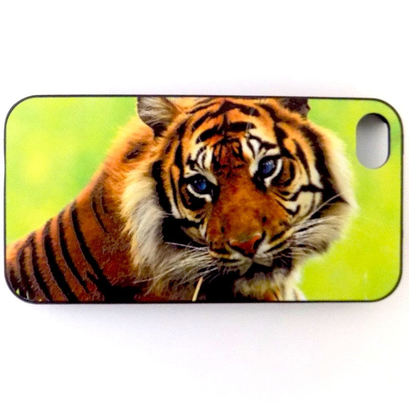 Bracevor Majestic Tiger Design Hard Back Case for Apple iPhone 4 4s