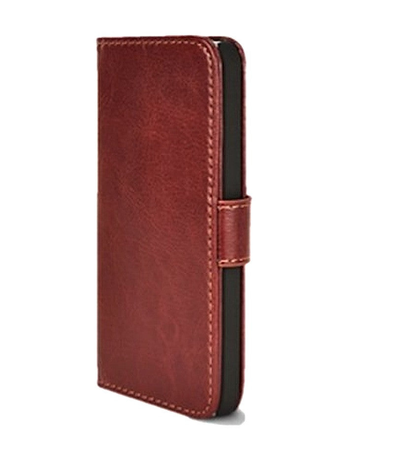 huge selection of 95210 aab4a Executive Brown Apple iPhone 5 5s Wallet Leather Flip Case – Bracevor