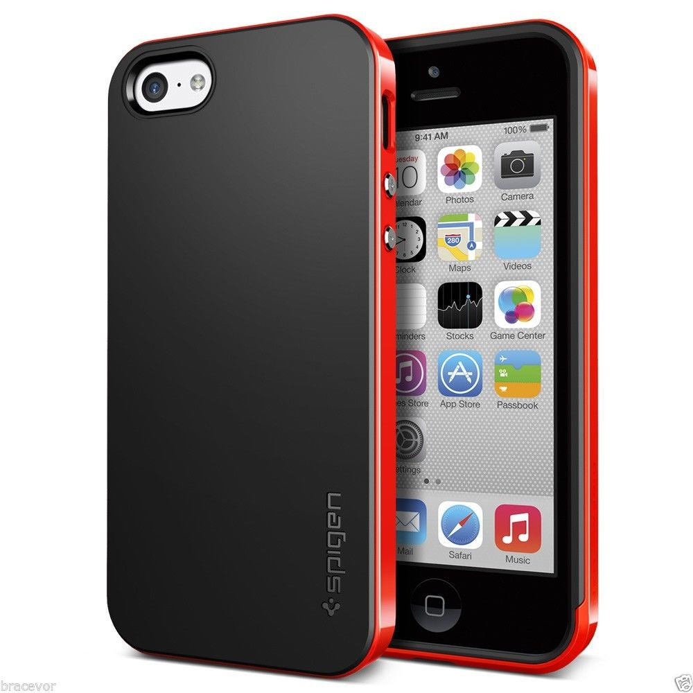 Neo Hybrid Bumper Back Case for Apple iPhone 5c - Red