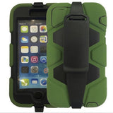 4 in 1 Heavy Duty Armor Case with Belt clip for iPhone 6, iPhone 6 Plus