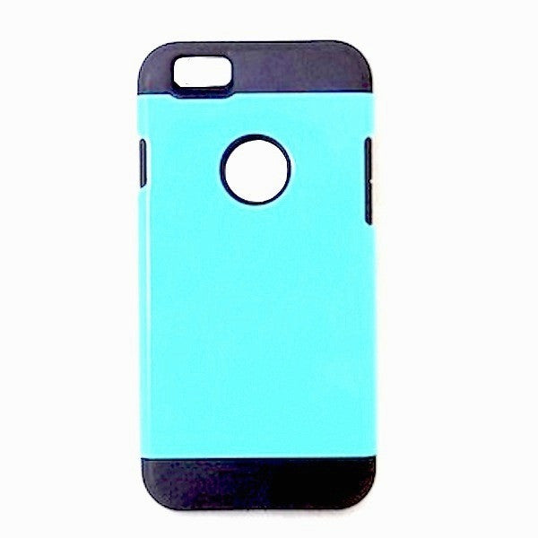 Bracevor Tough Armor Apple iPhone 6 Back Case - Turquoise Blue1