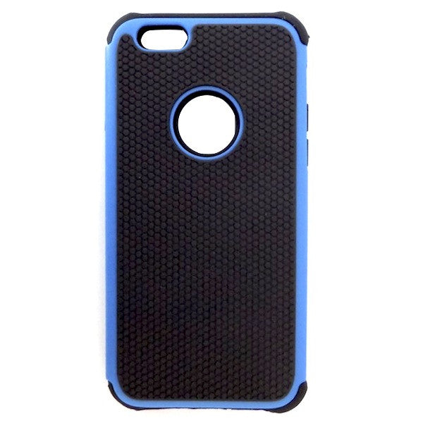 Bracevor Triple Layer Defender Back Case Cover for Apple iPhone 6 - Blue1