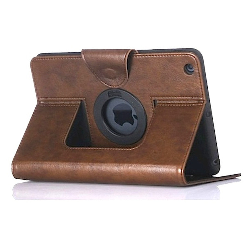 Premium Smart Leather Case for Apple iPad Air - Executive Brown
