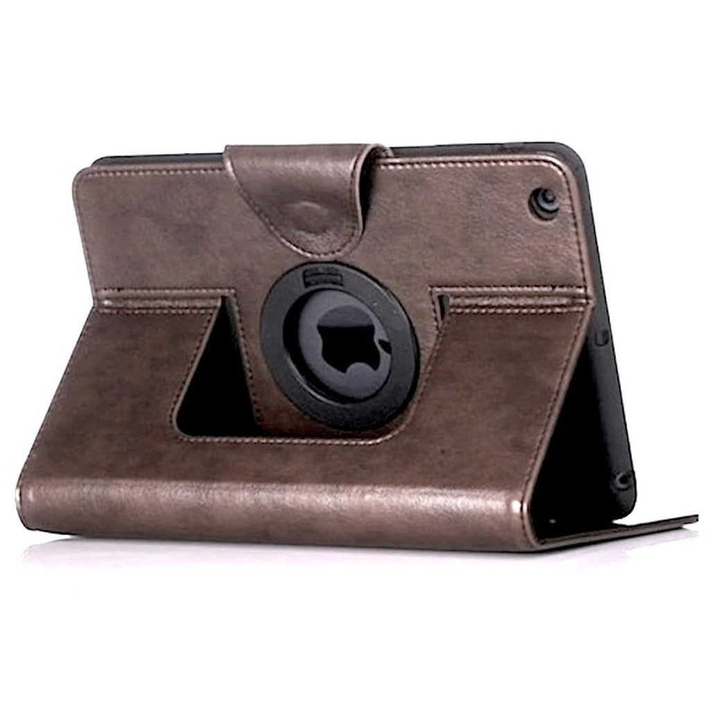 Bracevor Premium Smart Leather Case for Apple iPad mini 1 2 3 - Brown
