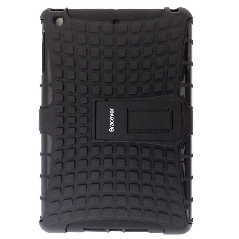 Bracevor Rugged Armor Hybrid Kickstand Case for Apple iPad mini 2