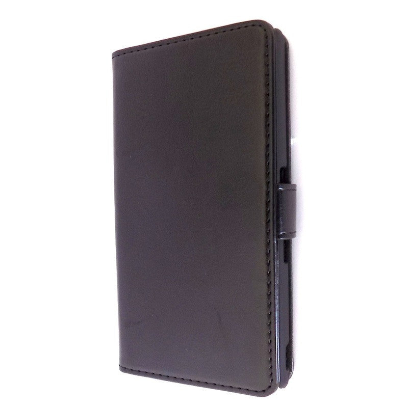 Bracevor Deluxe Black Sony Xperia Z L36H Wallet Leather Case 1
