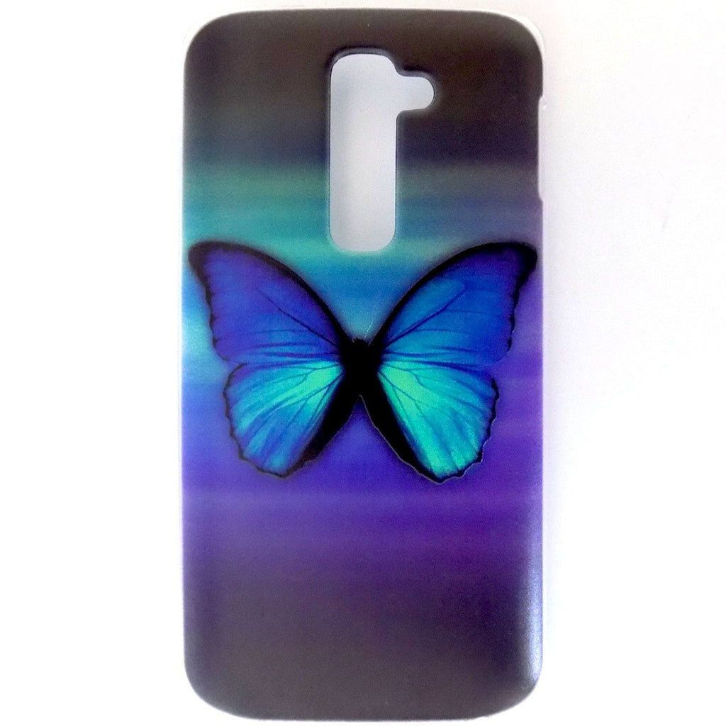 Bracevor Splendid Butterfly Design Hard Back Case for LG G2