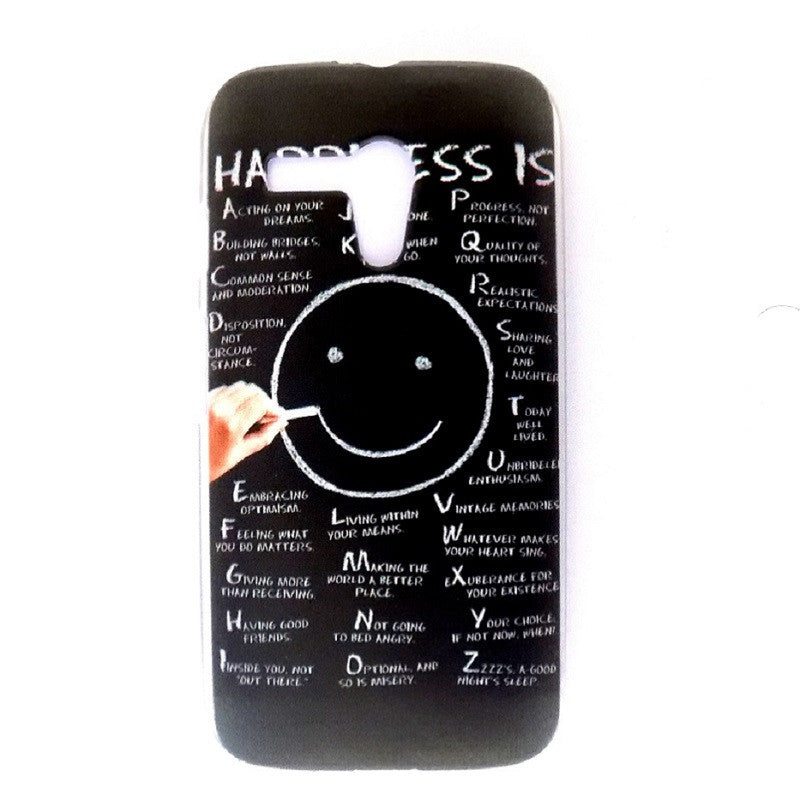 Bracevor Smiley Face Design hard back Case Cover for Motorola G XT1032 1033