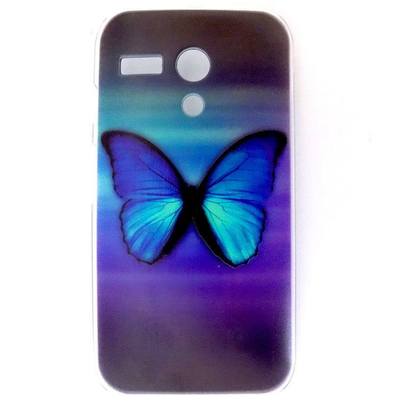 Bracevor Splendid Butterfly Design Hard Back Case for Motorola Moto G