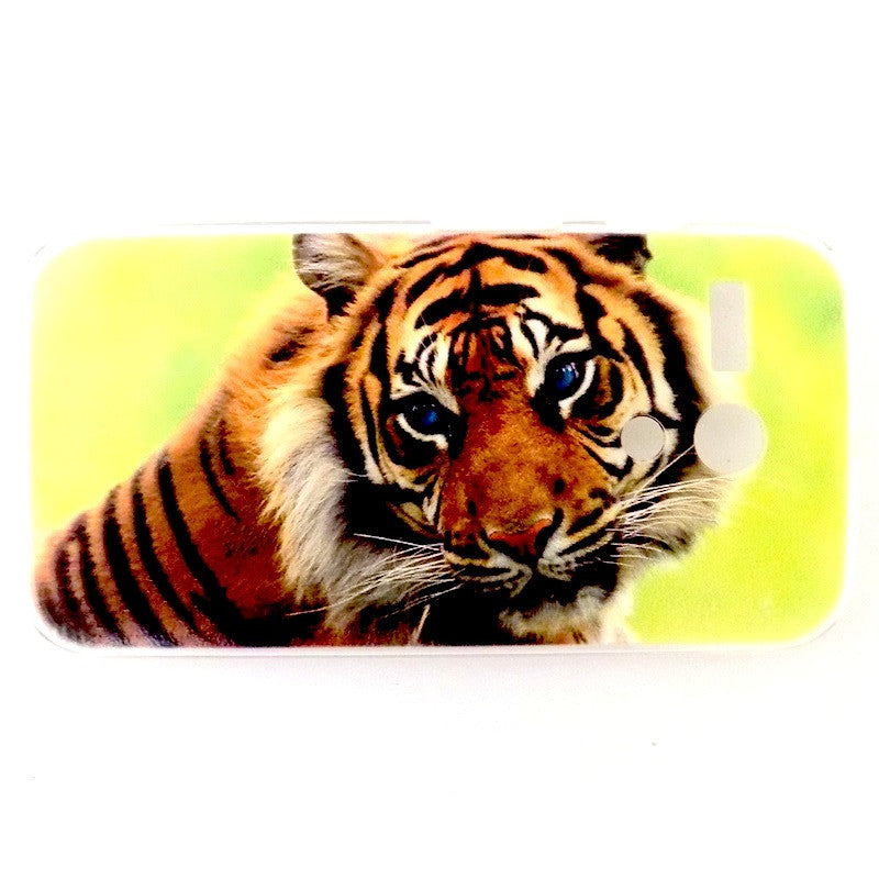 Bracevor Majestic Tiger Design Hard Back Case for Motorola Moto G
