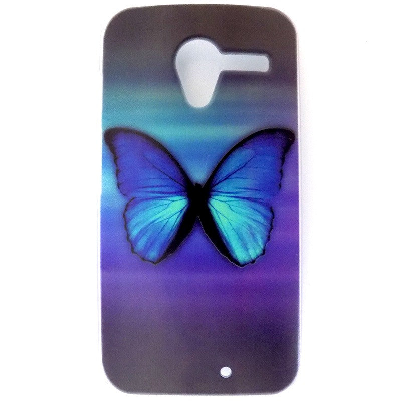 Bracevor Splendid Butterfly Design Hard Back Case for Motorola Moto X
