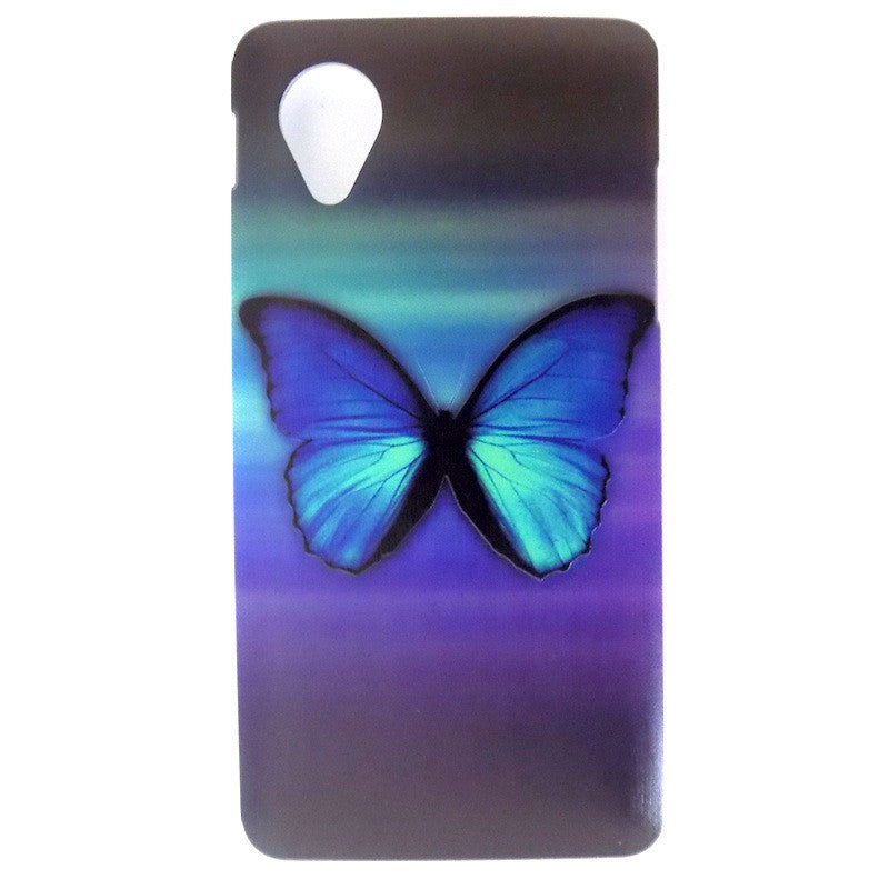 Bracevor Splendid Butterfly Design Hard Back Case for LG Google Nexus 5