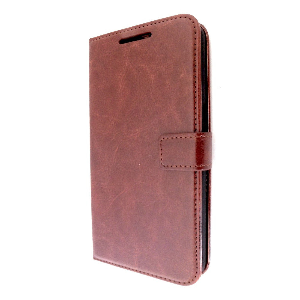 Bracevor Motorola Google Nexus 6 Wallet Leather Case Cover brown