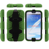 4 in 1 Heavy Duty Armor Case with Belt Clip holster for Samsung Galaxy Note 2