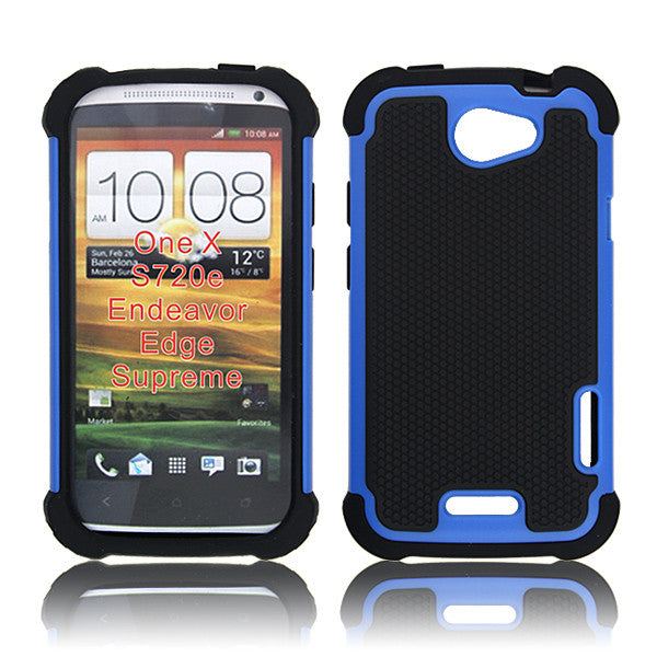 HTC One X blue Back case