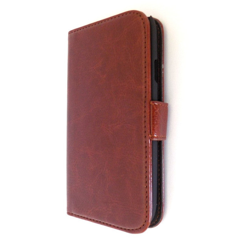 Bracevor Executive Brown Samsung Galaxy S3  i9300 Wallet Leather Case 1