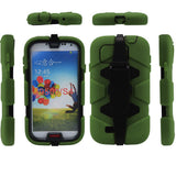 4 in 1 Armor Case with Belt Clip holster for Samsung Galaxy S4 i9500