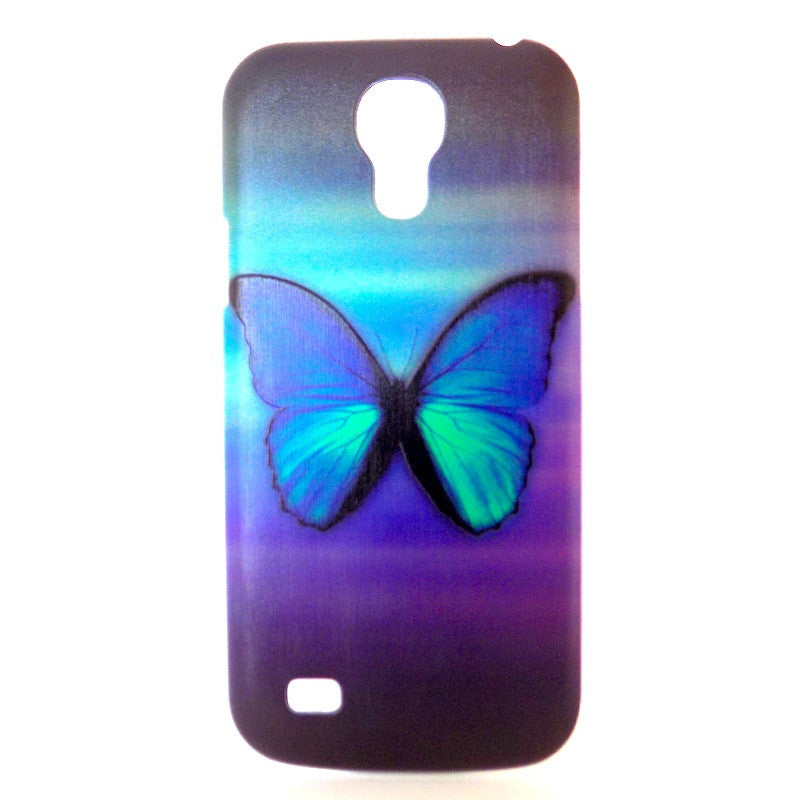 Bracevor Butterfly Design Hard Back Case for Samsung Galaxy S4 mini