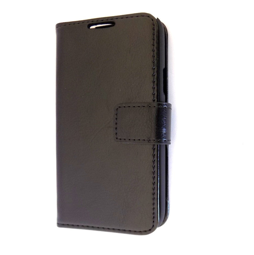 premium selection befd6 1c86d Deluxe Black Samsung Galaxy S4 mini Wallet Leather Case