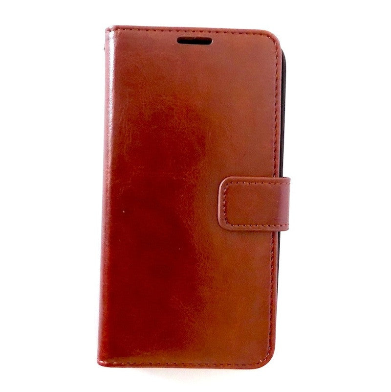 Executive Brown Samsung Galaxy S5 Wallet Leather Case