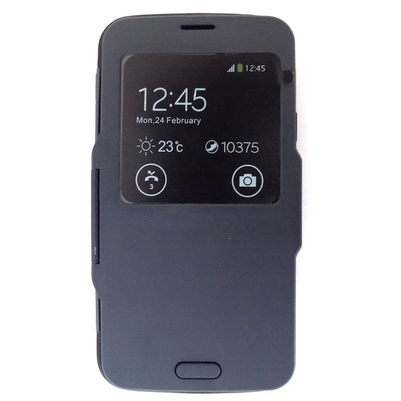 Bracevor S View Armor Flip Case for Samsung Galaxy S5 i9600 - Grey