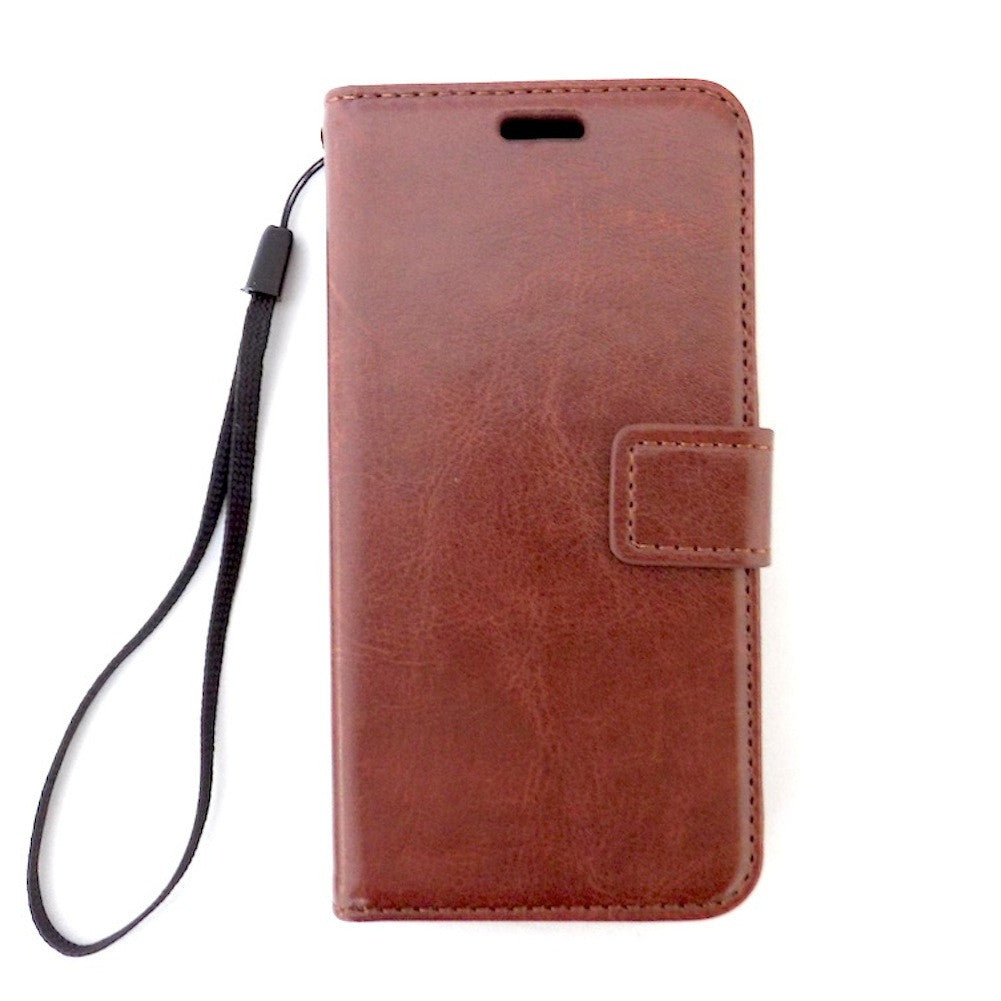 Bracevor Brown Samsung Galaxy S5 mini Wallet Leather Case Cover
