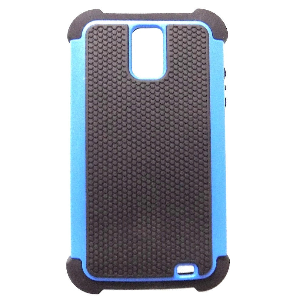 Bracevor Triple Defender Back Case Cover for Samsung Galaxy S II Duos I929 - Blue
