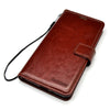 Bracevor Samsung Galaxy Note 8 Flip Cover Leather Case : Inner TPU, Premium Leather, Card Slots, Wallet Stand - Executive Brown