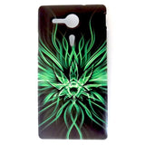 Bracevor Astral Divine Light Design Hard Back Case for Sony Xperia SP