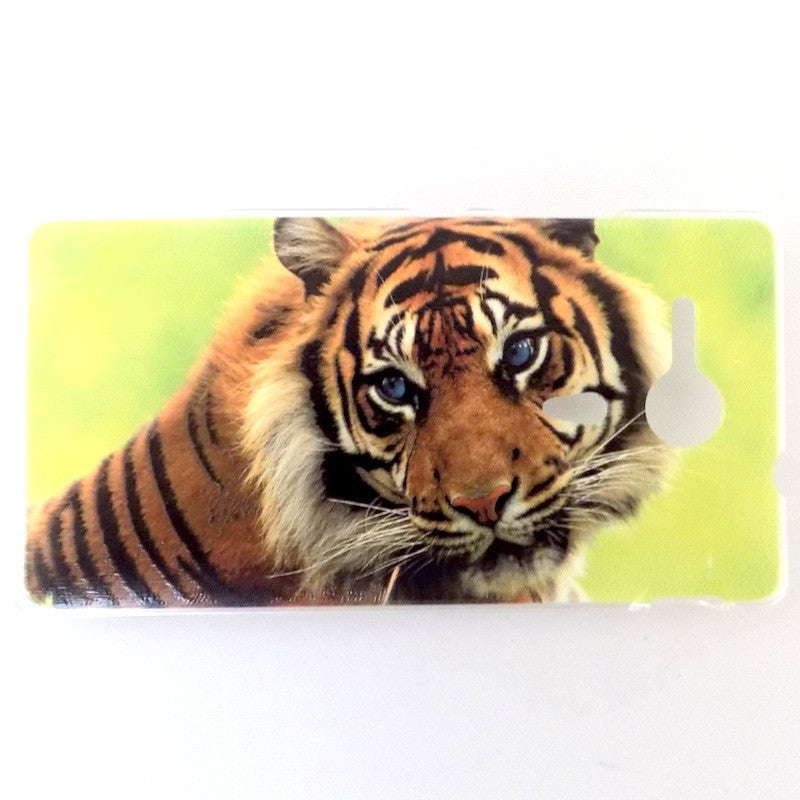 Bracevor Majestic Tiger Design Hard Back Case for Sony Xperia SP