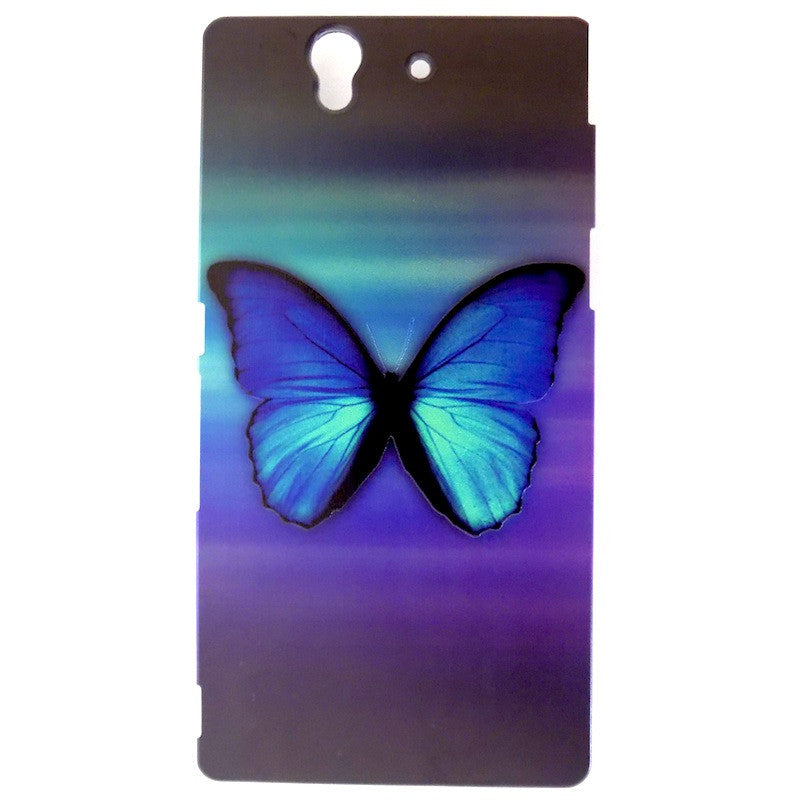 Bracevor Splendid Butterfly Design Hard Back Case for Sony Xperia Z L36h