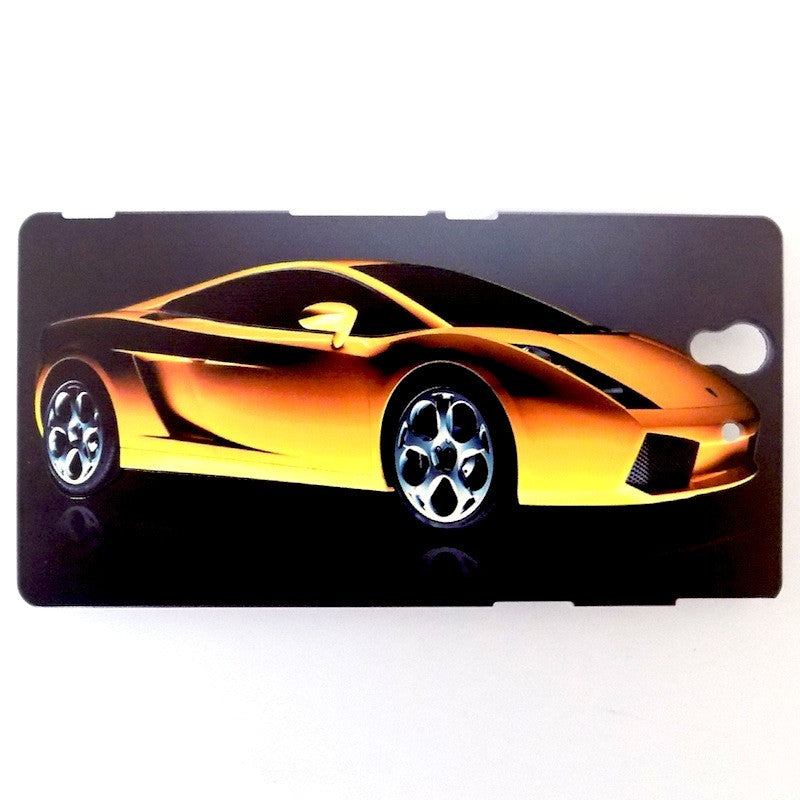 Bracevor Sports Car Wonder Design Hard Back Case for Sony Xperia Z L36h