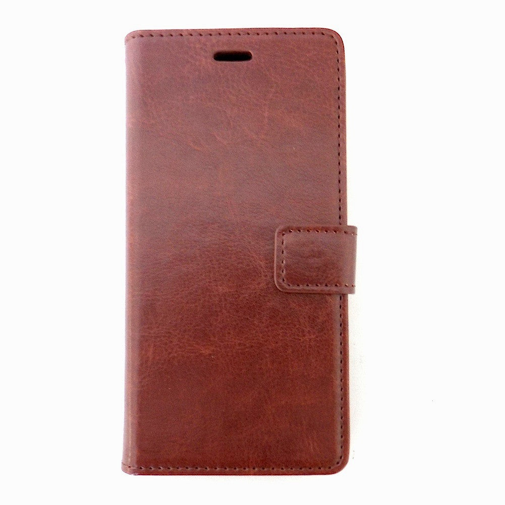 Bracevor Xiaomi Mi4 Wallet Stand Leather Case Cover - Brown