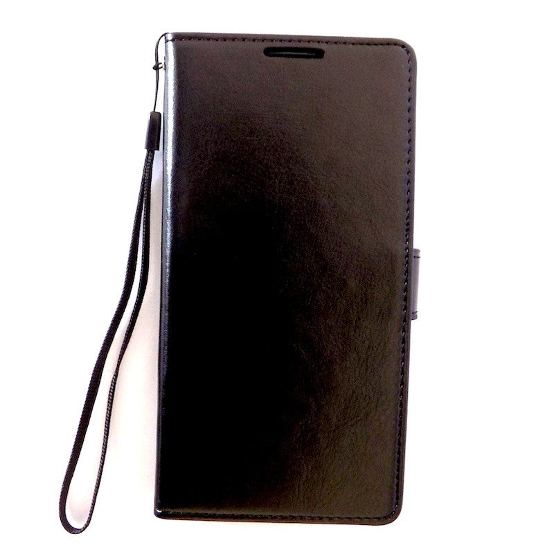 Bracevor Deluxe Black Sony Xperia Z2 Wallet Leather Case 1