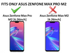 Bracevor Asus Zenfone Max Pro M2 Back Case Cover | Flexible Shockproof TPU | Brushed Texture - Black