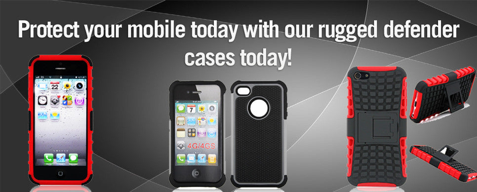 Bracevor protective defender mobile cases