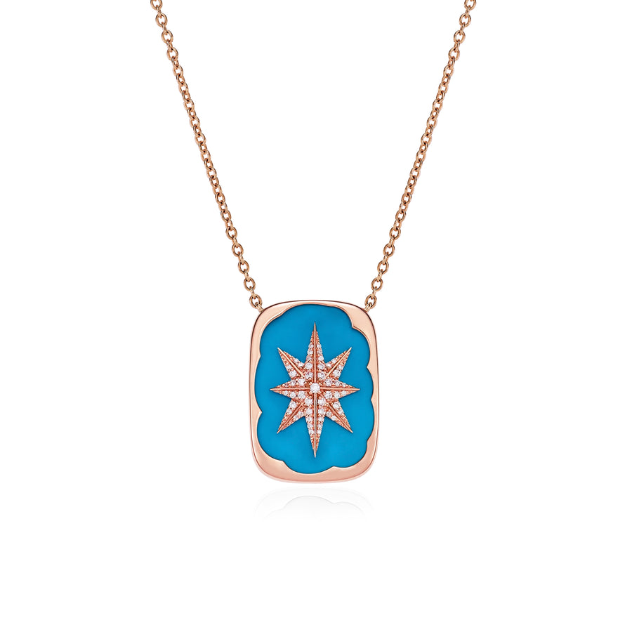 A Star is Born Necklace with Turquoise
