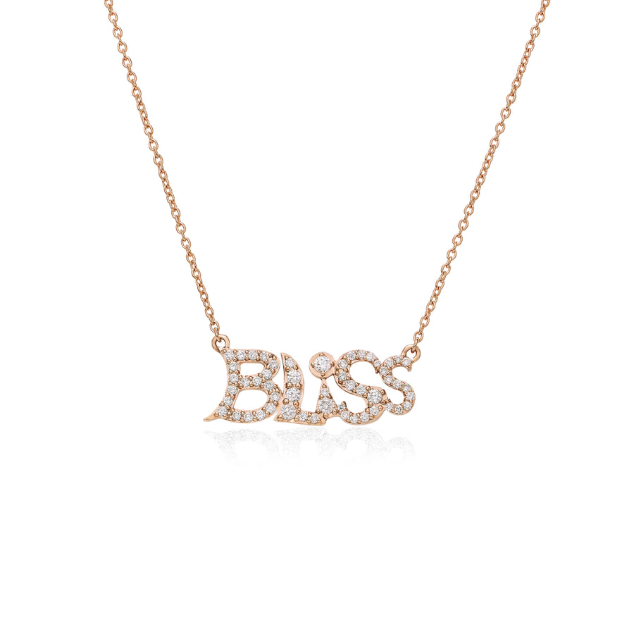 Bliss Necklace Pink Gold Wisdom Graffities