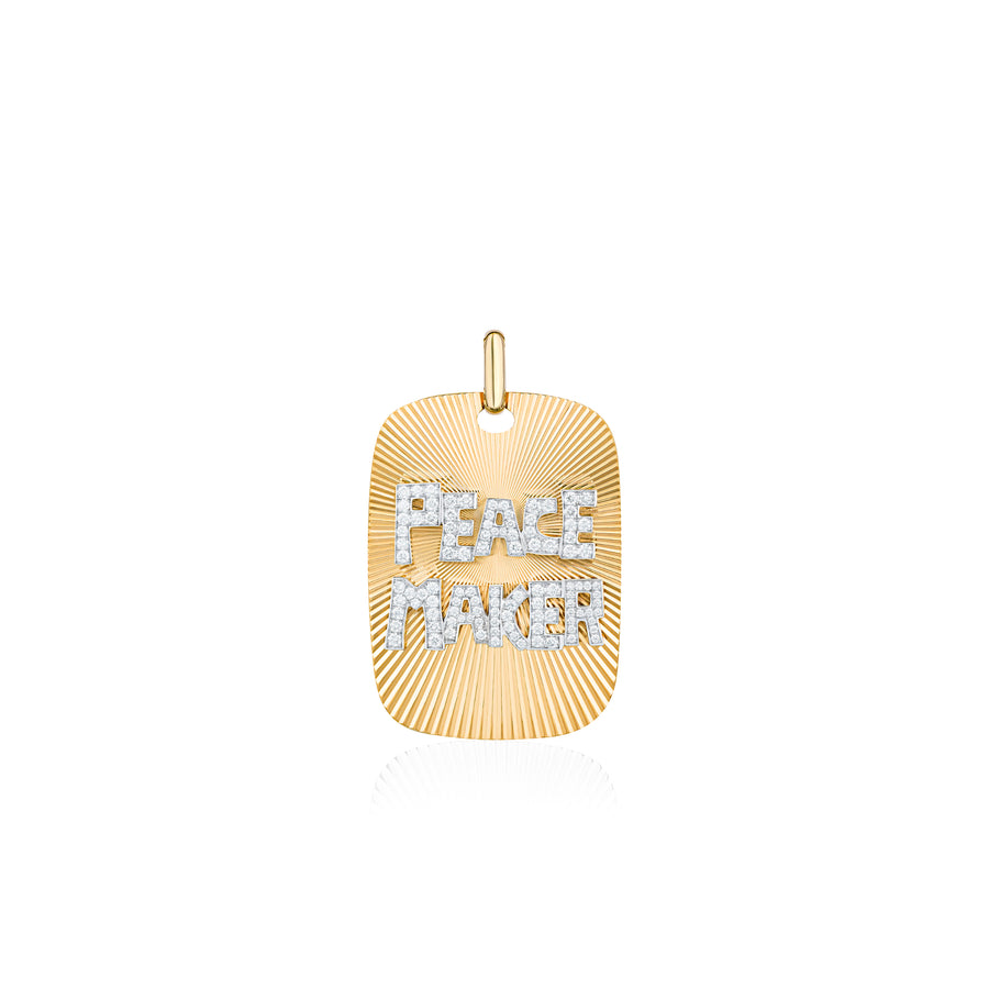 Diamonds Peace Maker Necklace Wisdom Graffities