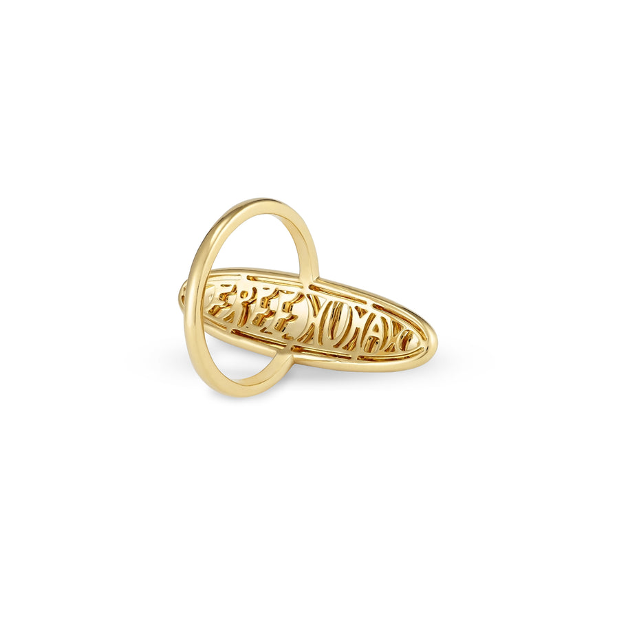 Dreamaker Ring in Yellow Gold Wisdom Graffities