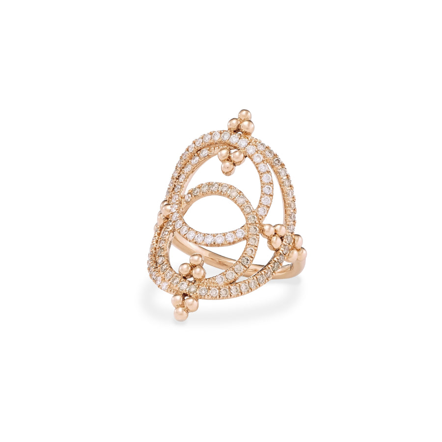 Eternity Pink Gold Ring