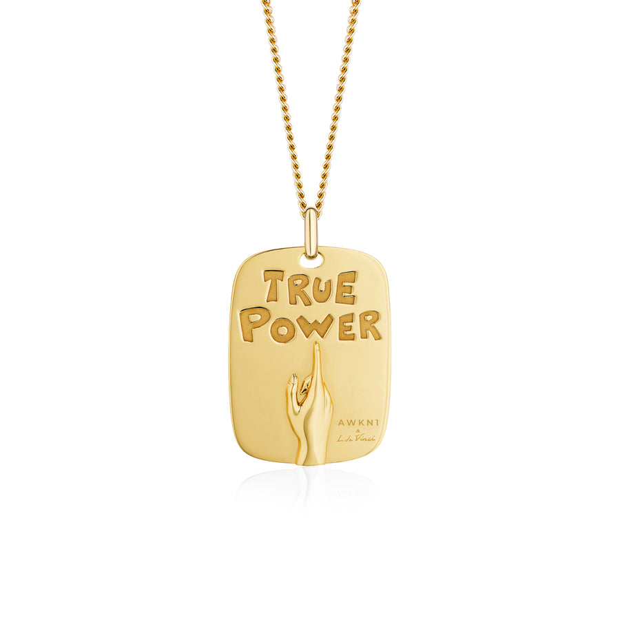 Diamonds Peace Maker Necklace Wisdom Graffities True Good