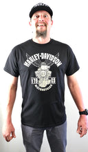 Load image into Gallery viewer, EAGLE DECAL Cajun Harley-Davidson Short Sleeve T-Shirt