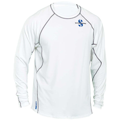 Scubapro Ice Long Sleeve UPF 50 Long Sleeve Channel Flow Rash Guard