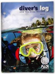 PADI Diver's Log and Training Record Books