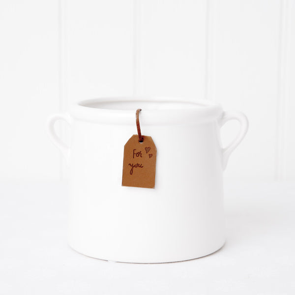 13cm Milk Churn Pot
